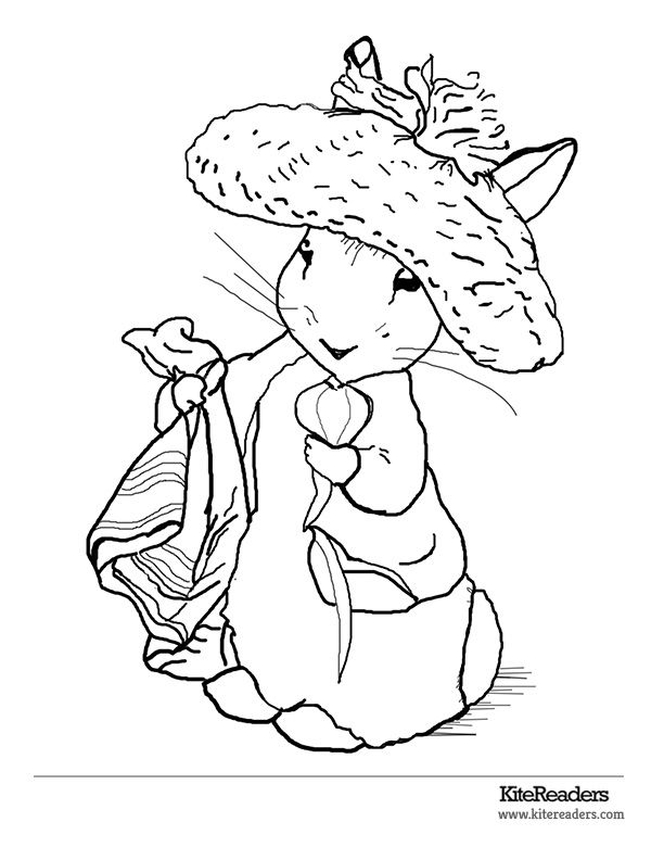 beatrice potter coloring pages Google Search Coloring