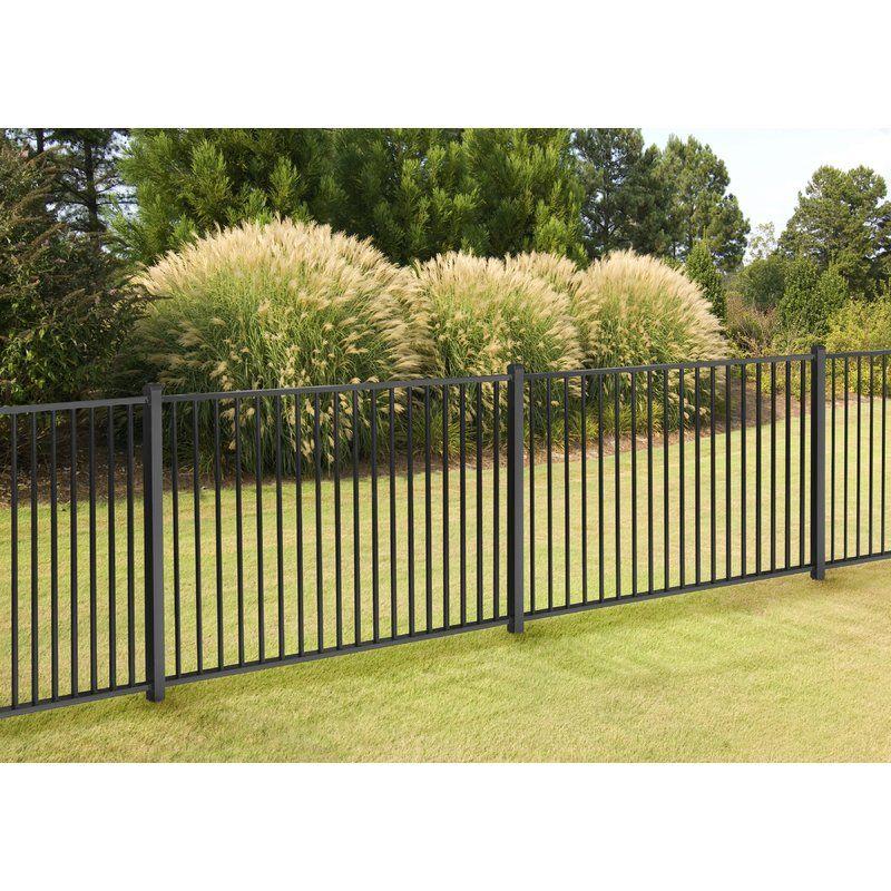 4 Ft H X 7 W Slim Jim Fence Panel