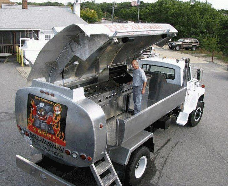 Unique Bbq Grills Awesome Bb Grill On Wheel Custom Pits