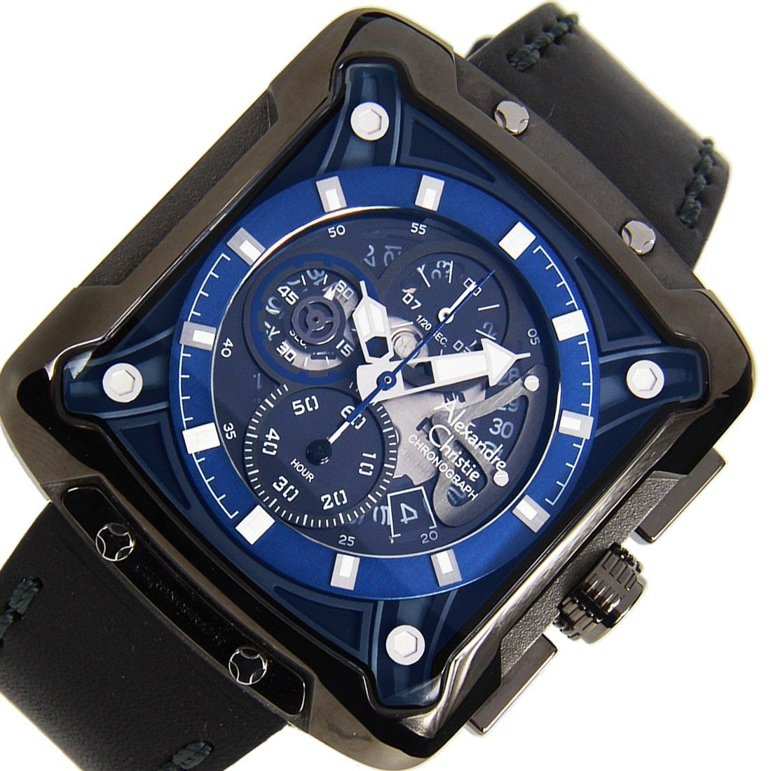 3030MCLIGBU Alexandre Christie Chronograph Male Watch