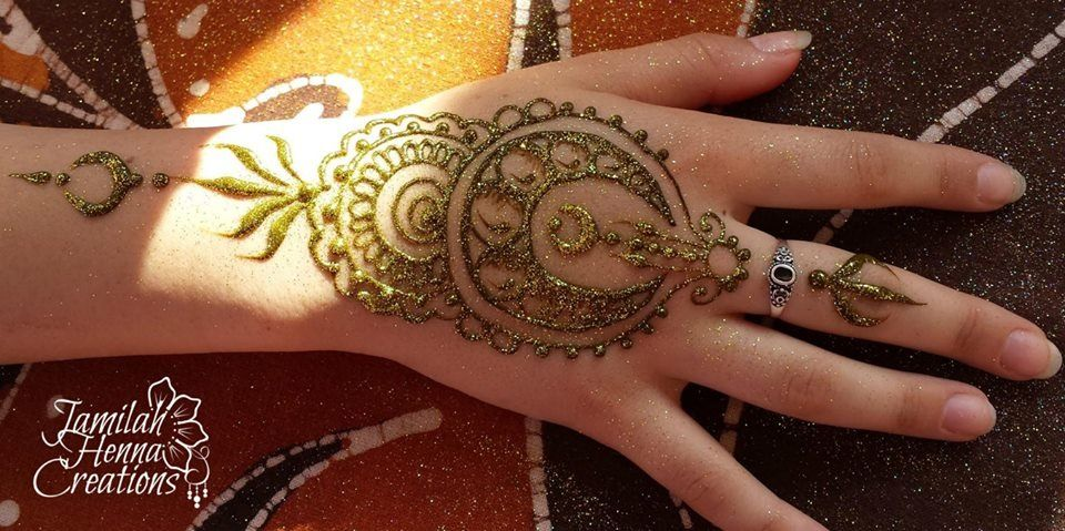 wwww.jamilahhennacreations.com moon mandala henna