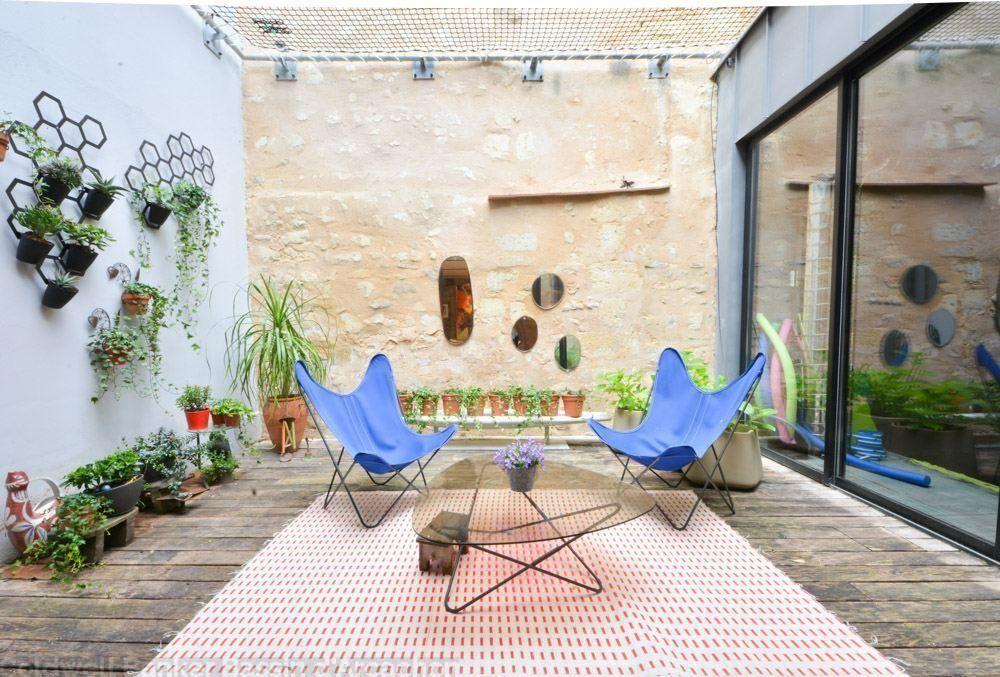 Vente Maison   Villa Bordeaux Chartrons maison du0027architecte avec - location villa piscine couverte chauffee