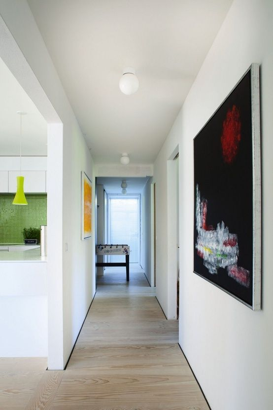 No Skirting Board Look Google Search: Colour Play In A Danish House Love The Floors And No