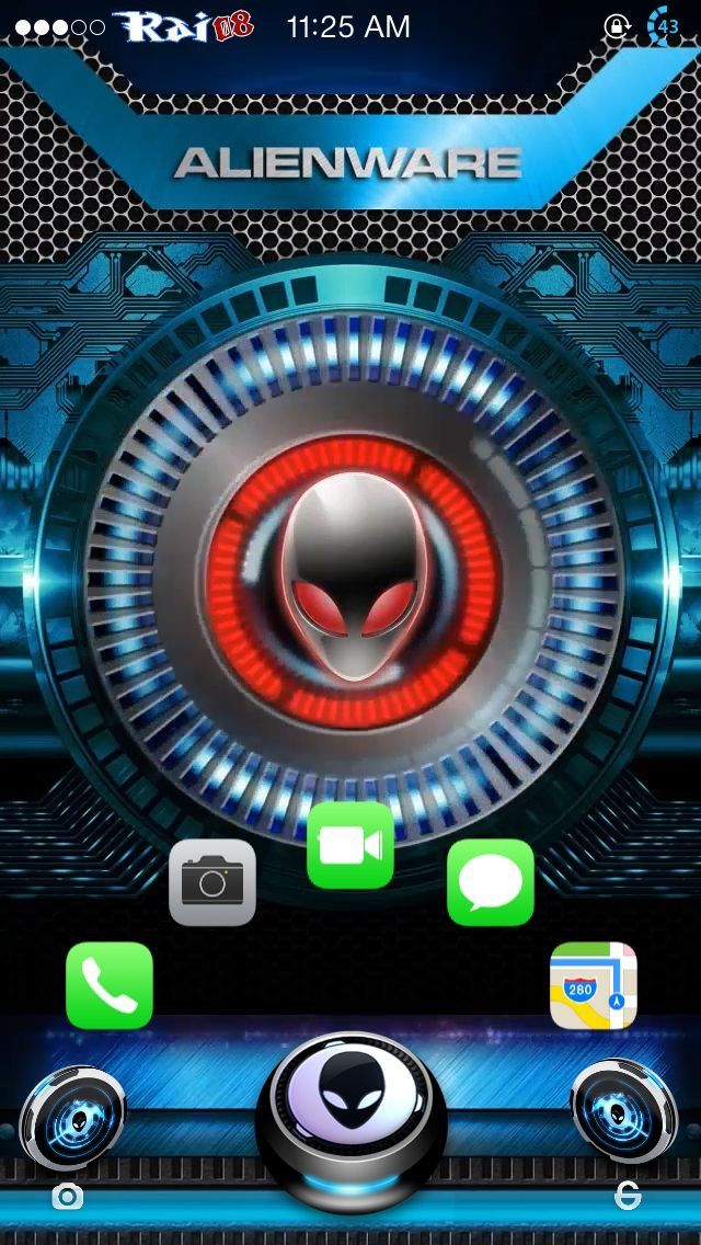 Pin by Juan T. Diaz on Alien Alienware, Apple wallpaper