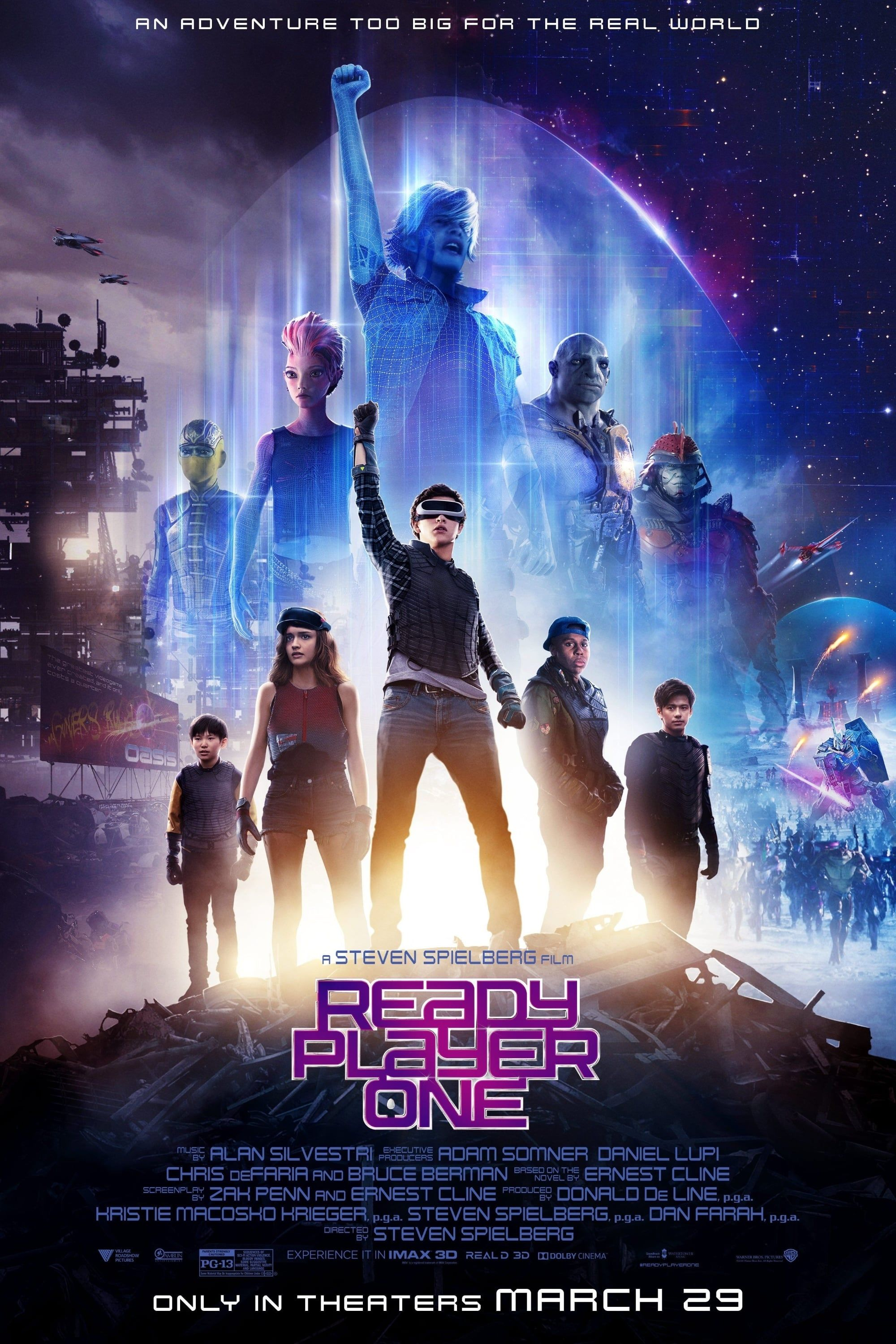Ready Player One 2018 In 2020 Ready Player One Movie Ready Player One Player One
