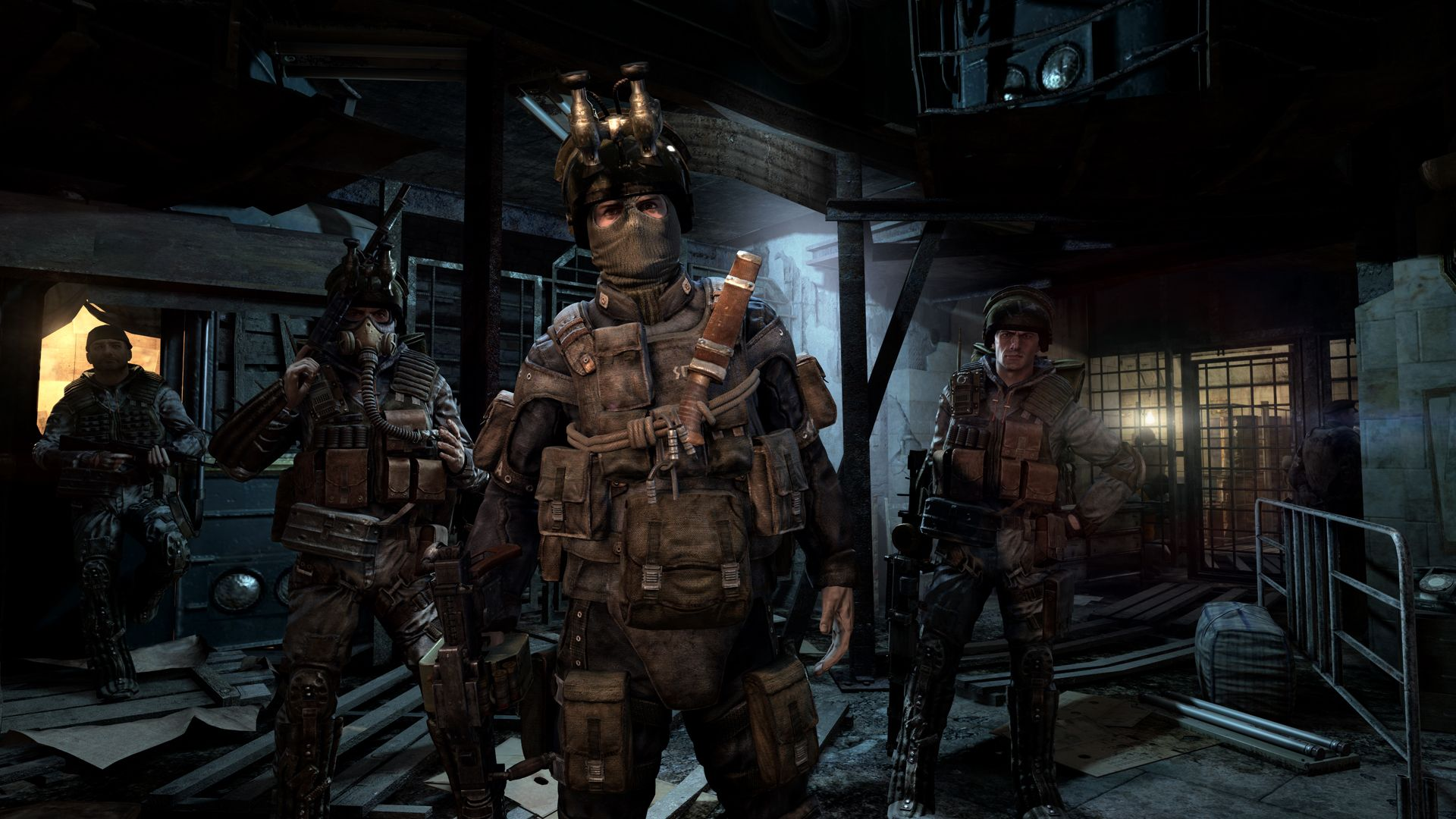 Metro Last Light Is Available Now On Xbox 360 Playstation 3 And Pc Metro Last Light Post Apocalipsis Videojuegos