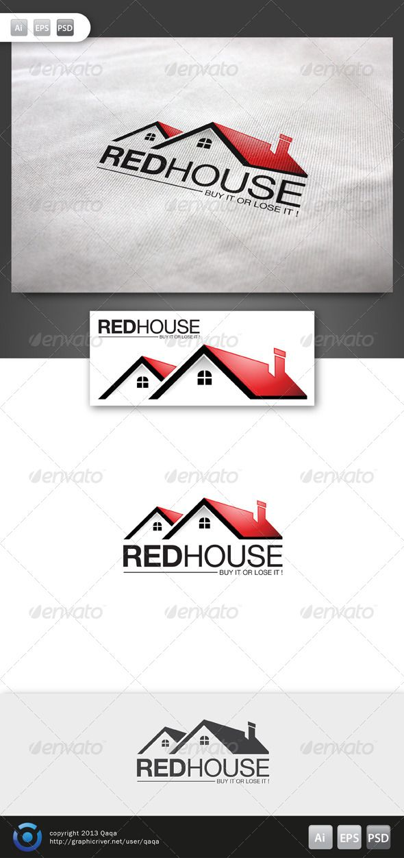 Red House Logo - 02  #GraphicRiver         Red House Logo is 100% editable and resizeable vectors!  suitable for property, service, real estate or other related.  Well organized file, All colors and text can be modified, read the instruction readme.pdf  Font: read readme.pdf  Colour: CMYK Files: .ai / .eps version 10 / .psd  Size: Resizeable  Contact me if you need any help and would be appreciate if you may rate this item..   Cheers!      Created: 15November13 GraphicsFilesIncluded: PhotoshopPSD #VectorEPS #AIIllustrator Layered: No MinimumAdobeCSVersion: CS Resolution: Resizable Tags: build #building #capital #care #city #company #elegant #estate #estatelogo #home #homecare #homelogo #house #houselogo #housing #land #loan #made #price #properties #property #realestate #realty #rent #rental #resident #villa