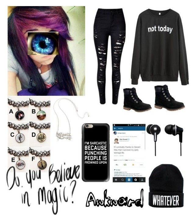 """""""Abbey Black øn a nørmal day~ Anime Røleplay"""" by bucketoftragedies ❤ liked on Polyvore featuring art"""