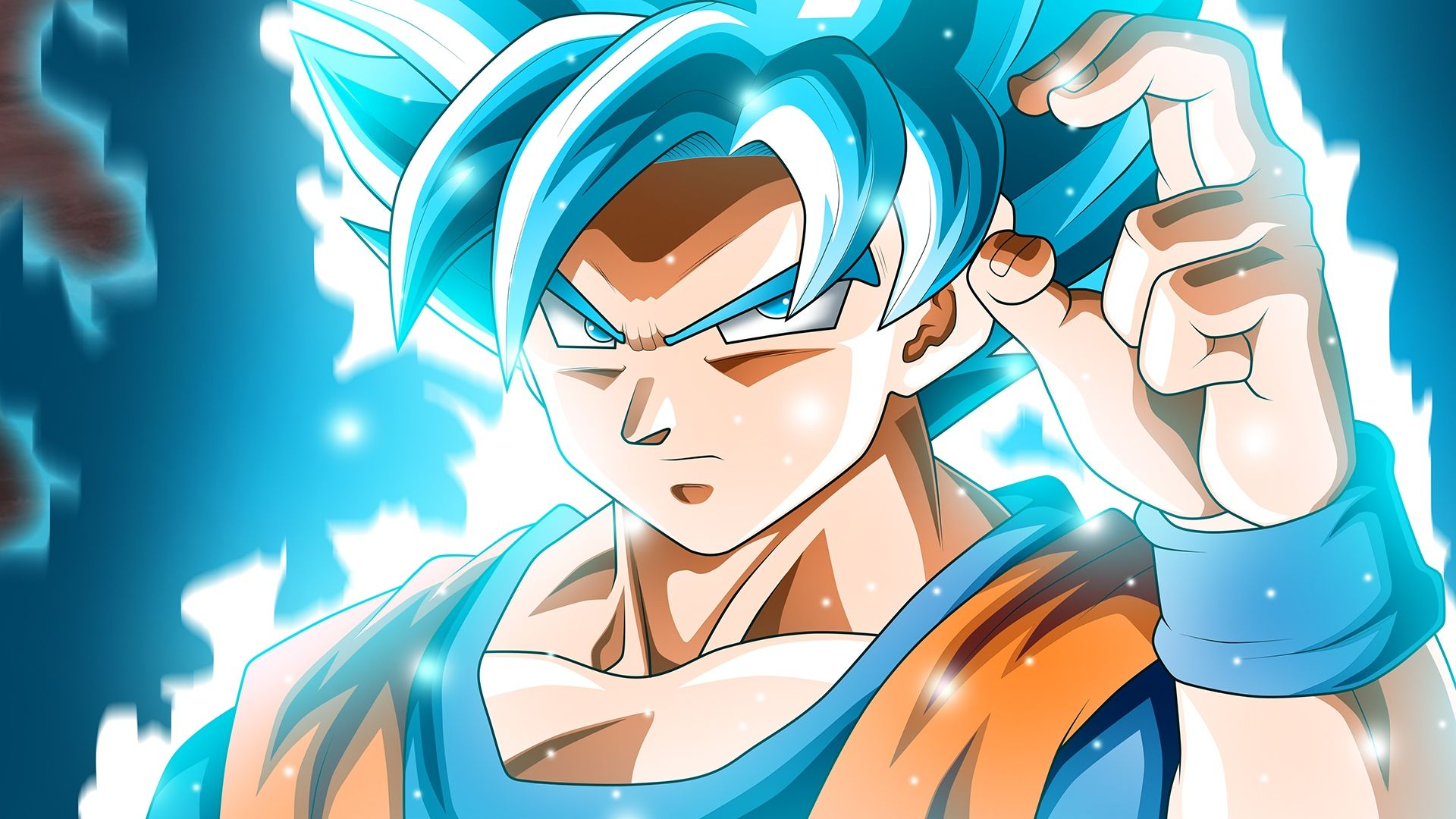 Son Goku Super Saiyan Blue Wallpaper Hd