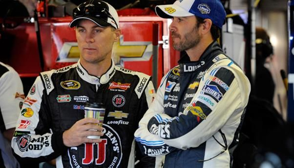 NASCAR Feud Kevin Harvick vs Jimmie Johnson http//www