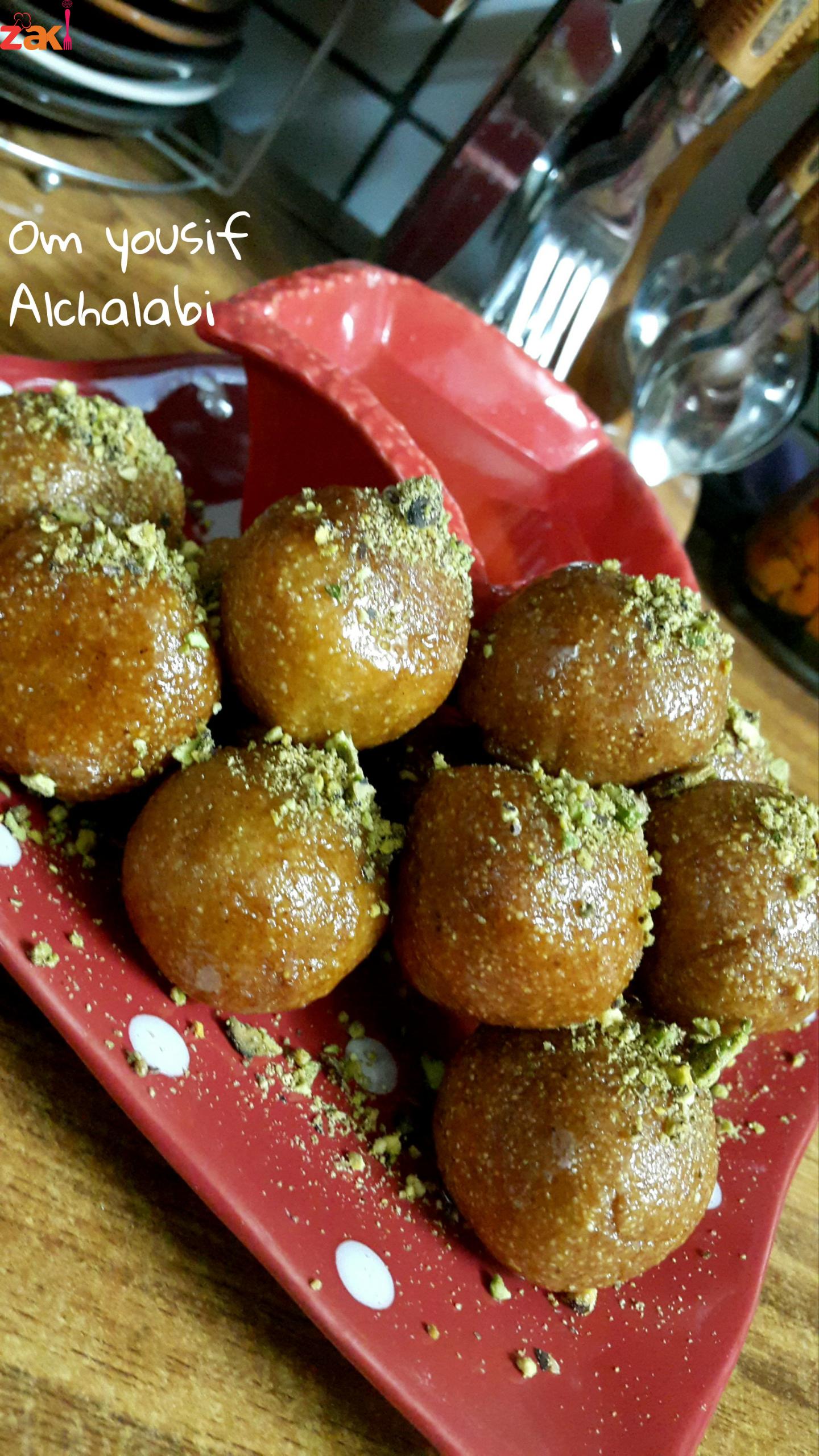 حلى السميد وين تشجيعكم يا الغاليات زاكي Food Arabic Dessert Arabic Food