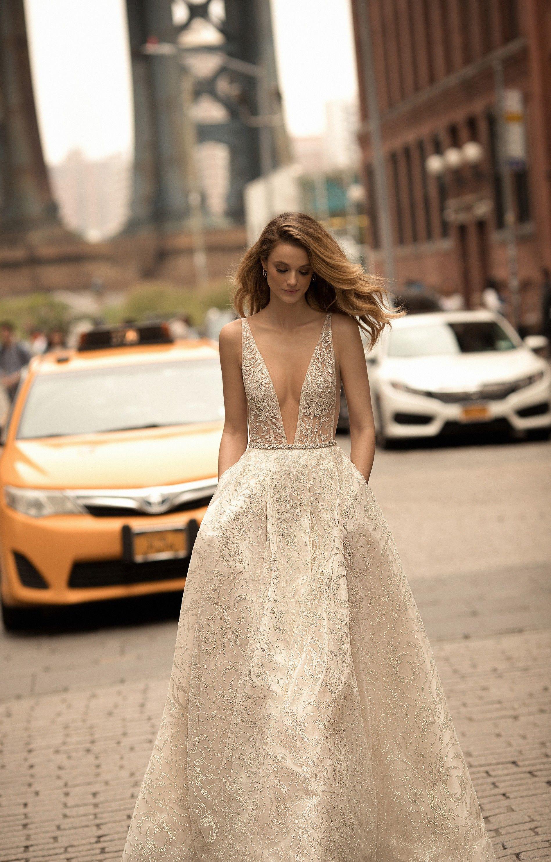 ade80048c5146 SS 2018 BERTA Bridal with Kate Bock www.noveltybride.com | Bridal ...