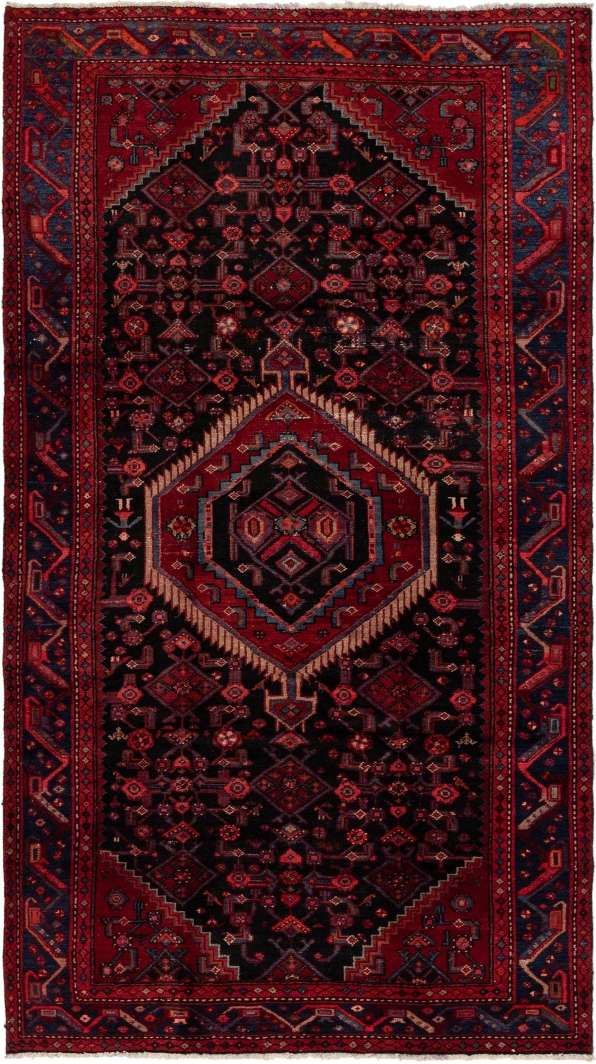 Darjazin Black Antique 5x8 Area Rug In 2020 Rugs Persian Rug 5x8 Area Rugs