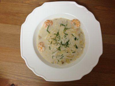 Receta de Sopa Tai de Tallarines