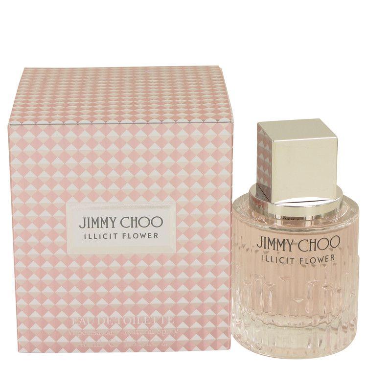 Jimmy choo illicit flower perfume 13 oz edt spay for