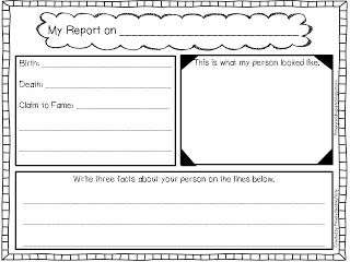 Research Report Template Elementary School Career Objective Sample