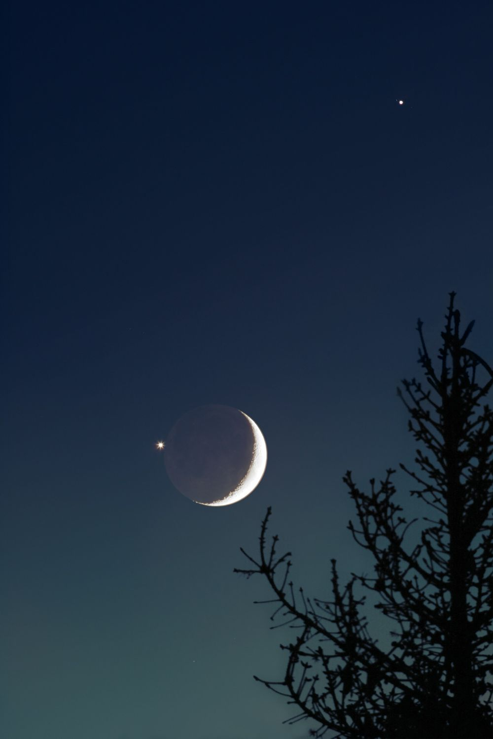 Moon with Venus and Jupiter | Space: The Final Frontier in