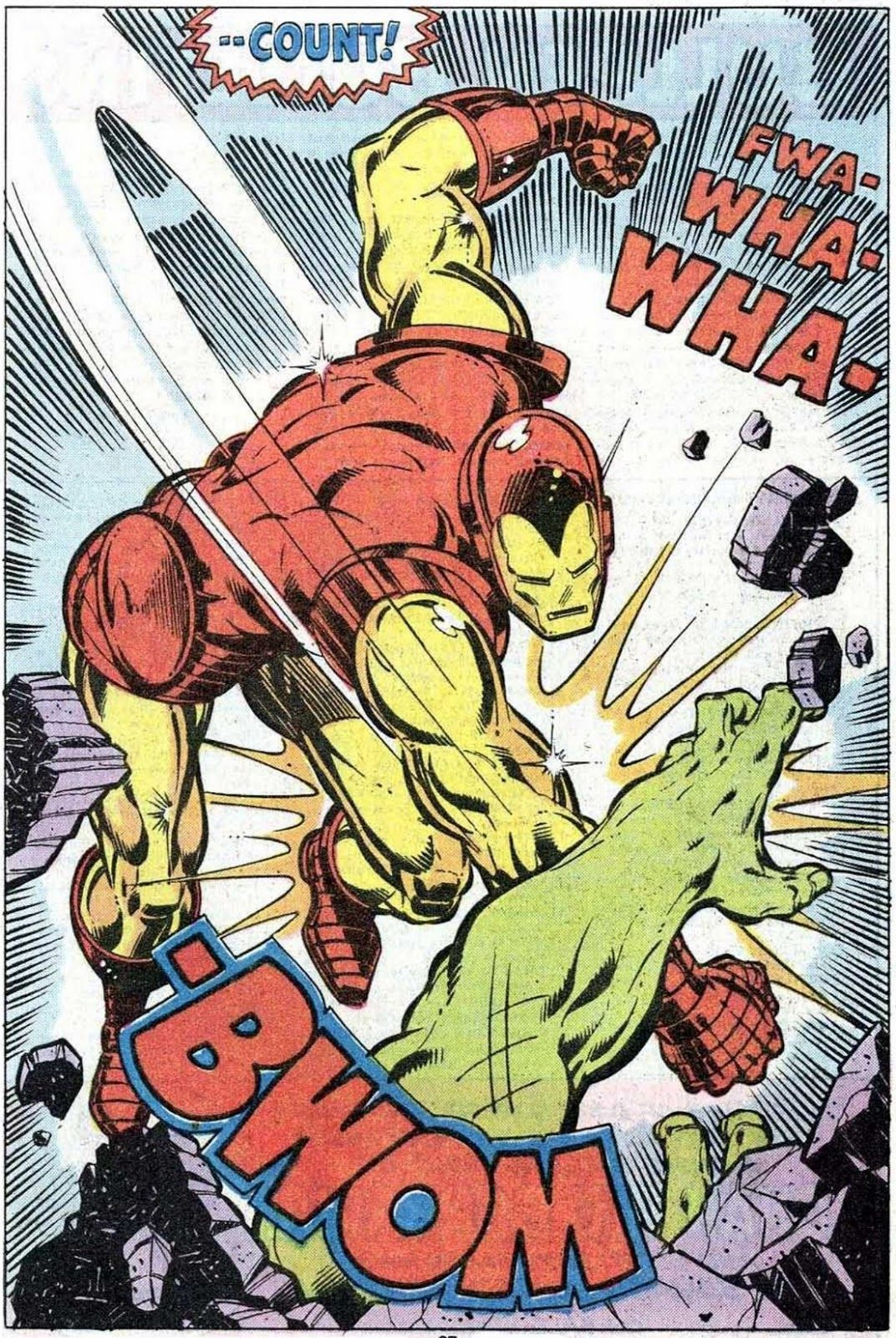 Iron Man vs. the Hulk by John Romita Jr.  Bob Layton