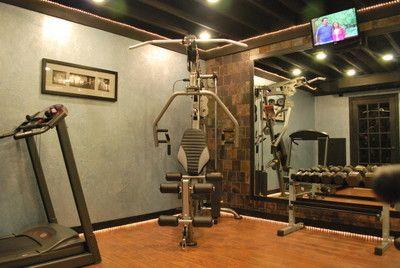 home gym idea  workout room home home gym basement home