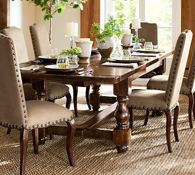 Dining Room Cortona Extending Dining Table Potterybarn Pb Is So