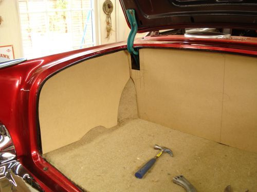 Rear Trunk Chevy Bel Air 1957 Chevy Bel Air Bel Air