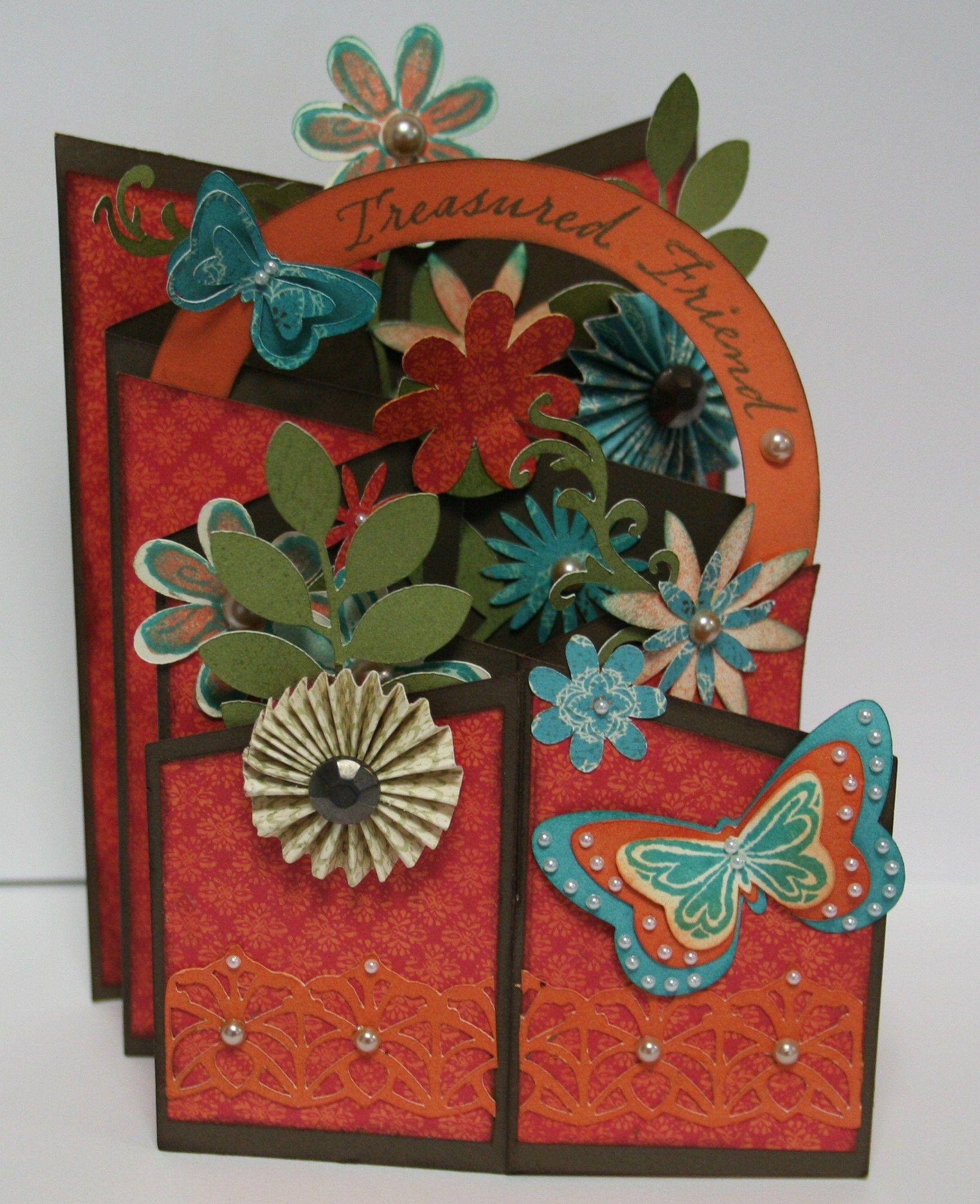 Waterfall Card | Cards handmade, Homemade cards