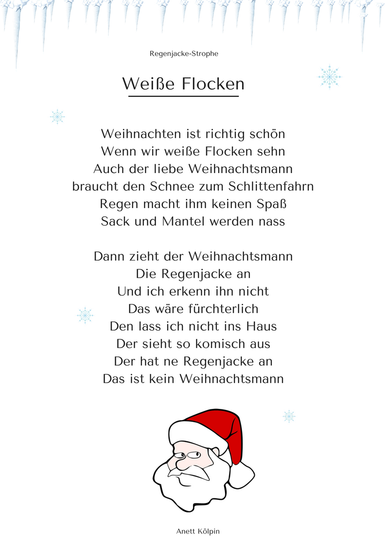 wei e flocken 1 weihnachtsgedicht lied mp3 h ren. Black Bedroom Furniture Sets. Home Design Ideas