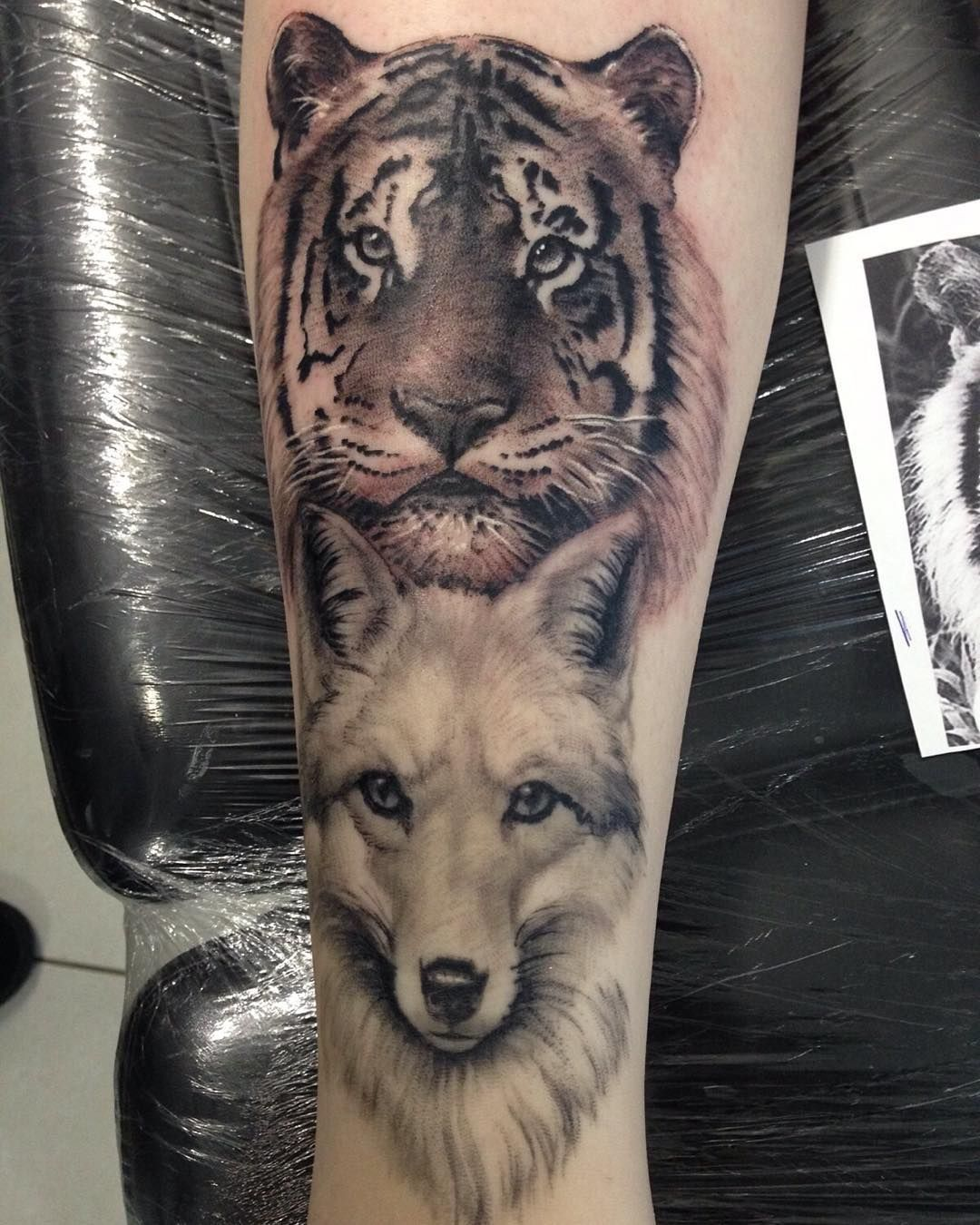 150 realistic lion tattoos and meanings 2017 collection - Wolf Tiger Tattoo Andr Ten Rio