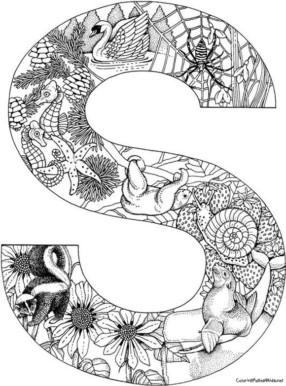 Letter o Coloring Pages Bing Images COLORING PAGES ALPHABET