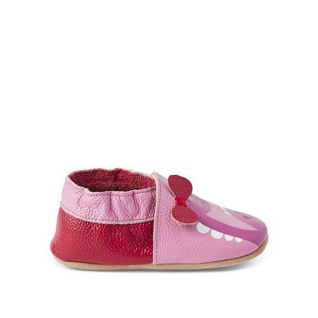 George Baby Girls' Dino Slippers Pink 5