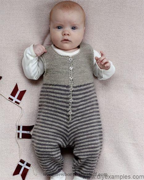 Kinderstrickmuster Stricken Sie sich selbst: Die Hose passt gut zu den Babystric…
