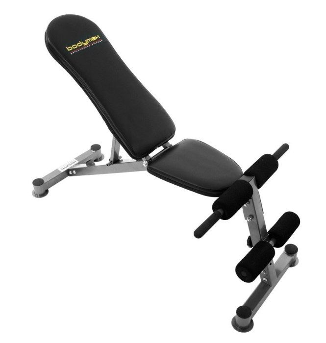 Bodymax Cf324 Adjustable Weight Bench Flat Incline Or Decline Weight Bench Also Works As A Sit Up Be Adjustable Weight Bench Weight Benches Power Rack