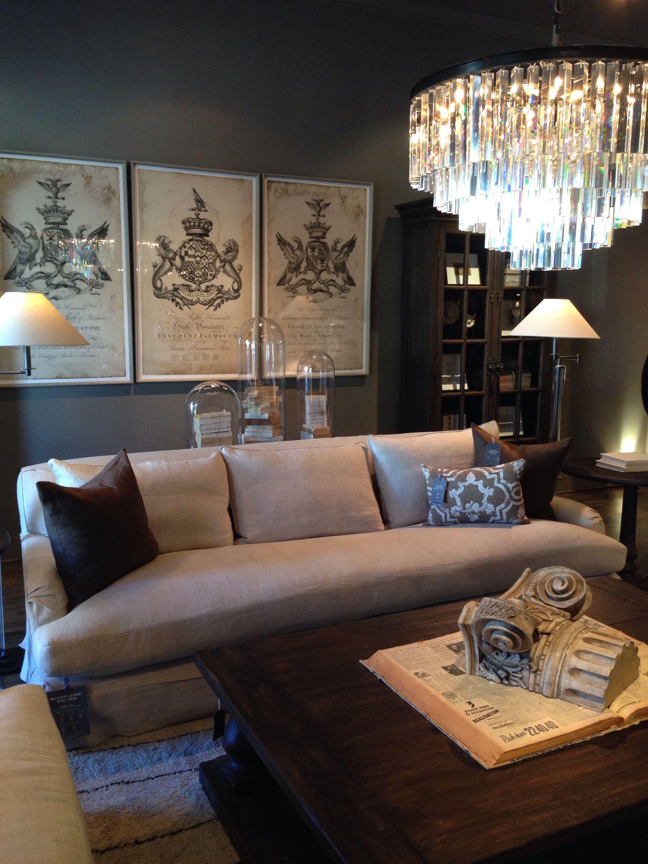 Restoration hardware living room home restoration - Restoration hardware living room ideas ...