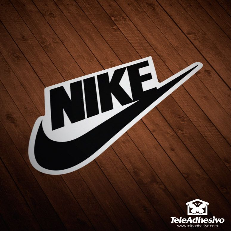 Pegatina Nike 2 Pegatinas Para Coches Pegatinas Pegatinas Moto