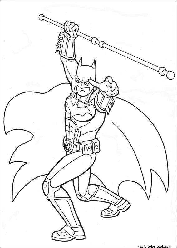 Batman Coloring Pages Free Full Size To Print Superhero Coloring