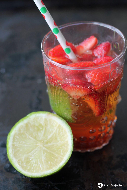Erdbeer Mojito Cocktail Rezept Mit Erdbeeren Sommer Erdbeer Mojito Mojito Rezept Rezepte