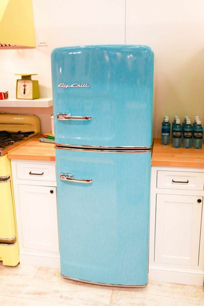 Kühlschrank Retro Kühlschränke Farbig Einrichtungstipps