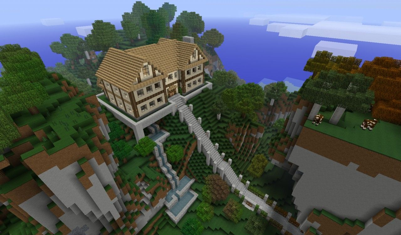 A House On A Hill Remake READ UPDATE LOG Minecraft Project - Minecraft coole einfache hauser