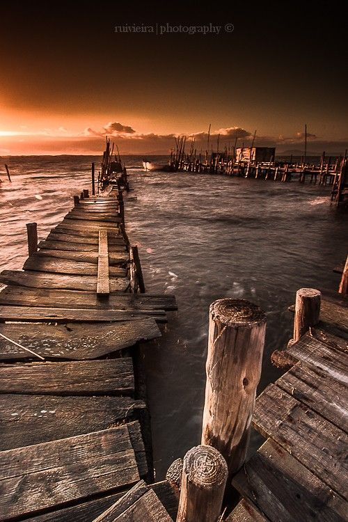A Pier with a History by ruimvieria | landture | Tumblr