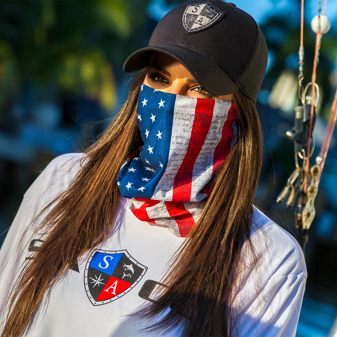 70eaff4f4 SA Co. American Flag Face Shield™ in Red/white/blue | Tubular ...