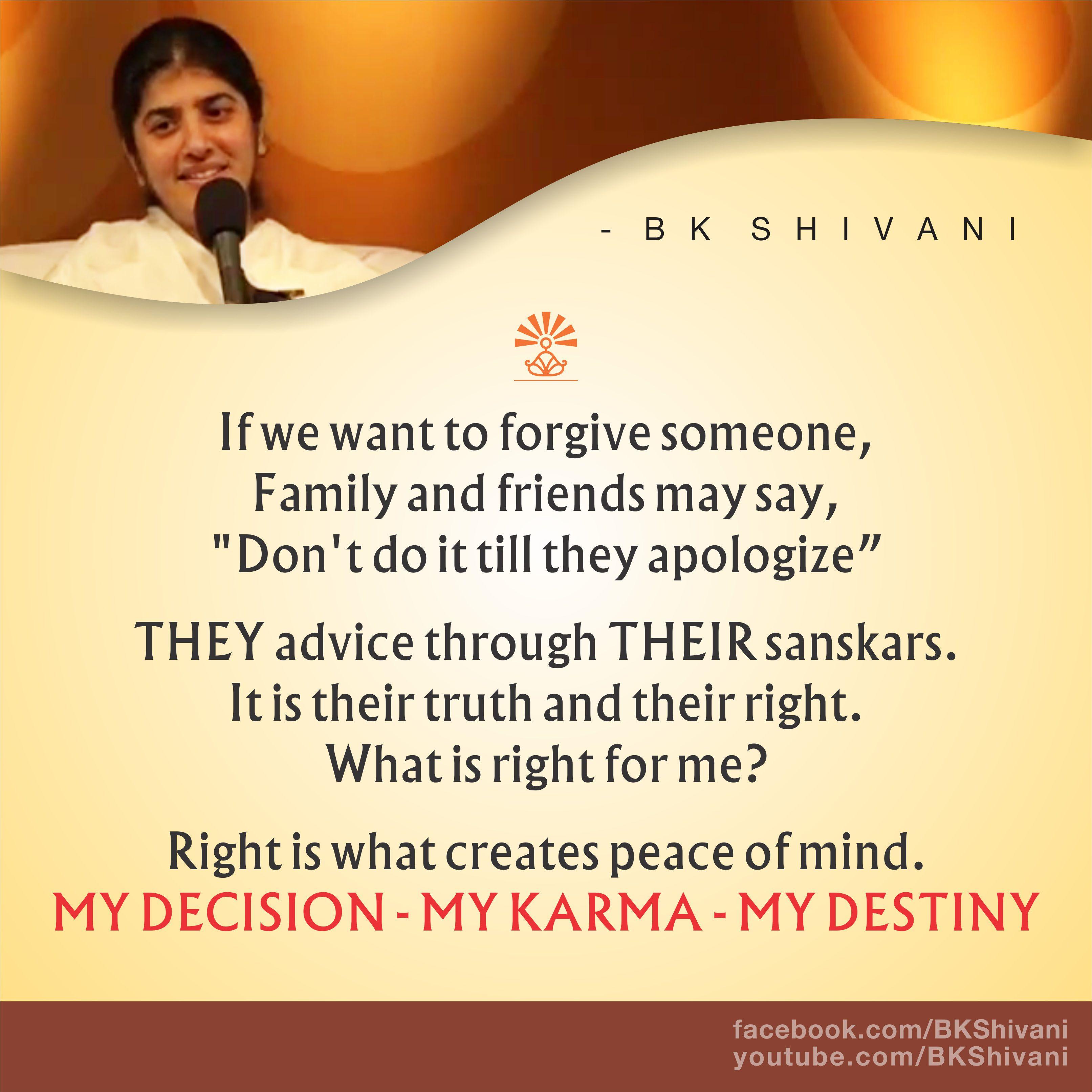 Brahma Kumaris Positive Thinking Quotes: Pin By Madhavi Gajria On BK Shivani T Quotes Brahma