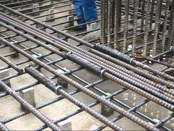 Rod Binding For Roof Shattering Of Roof Process Roof Casting Rebar Detailing Civil Engineering Design Concrete Roof