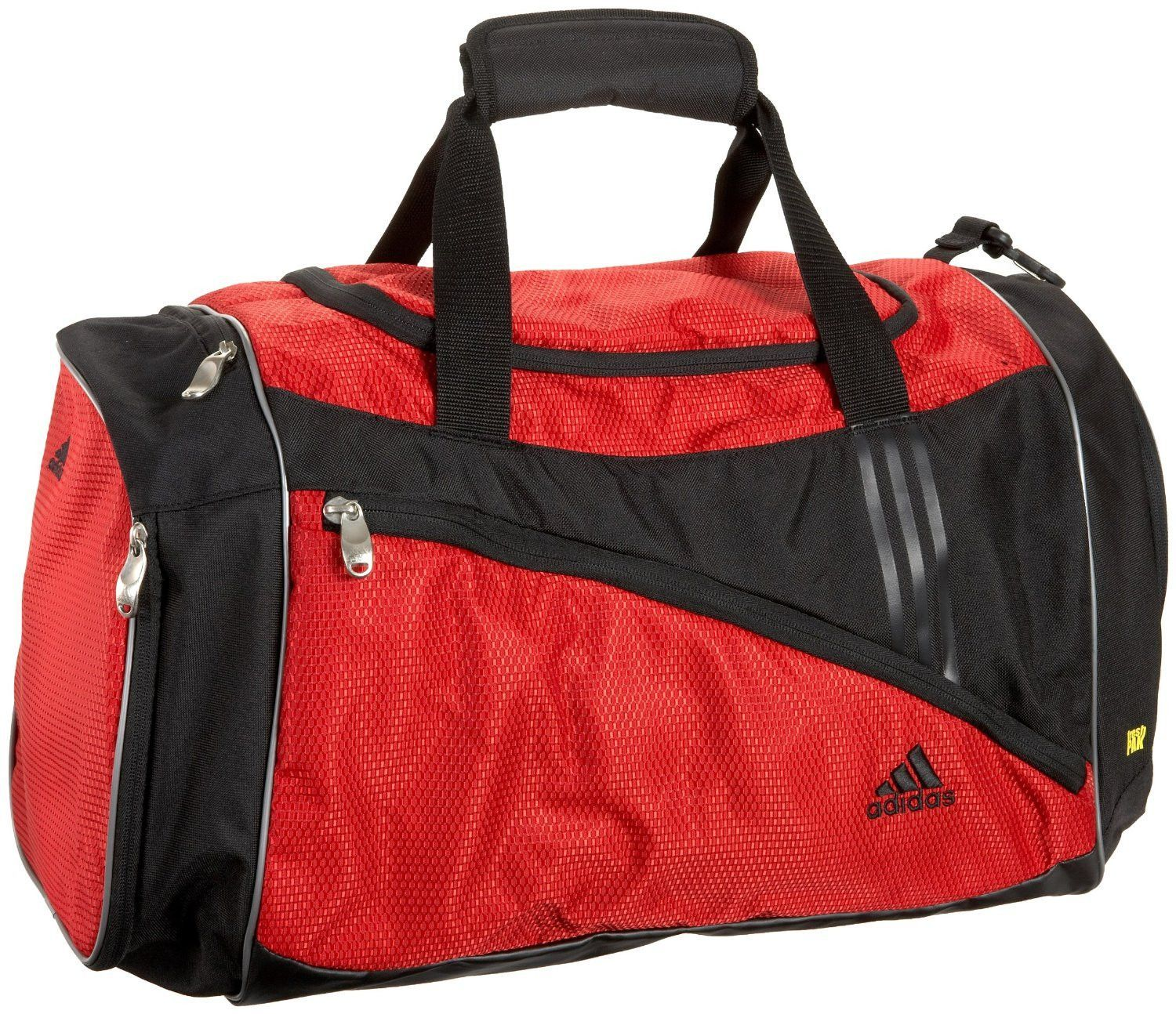 c529125e45 This adidas Scorch Team Duffel Bag is made to carry everything you need for  those big tournaments and games. It has a large main compartment with a  sturdy ...