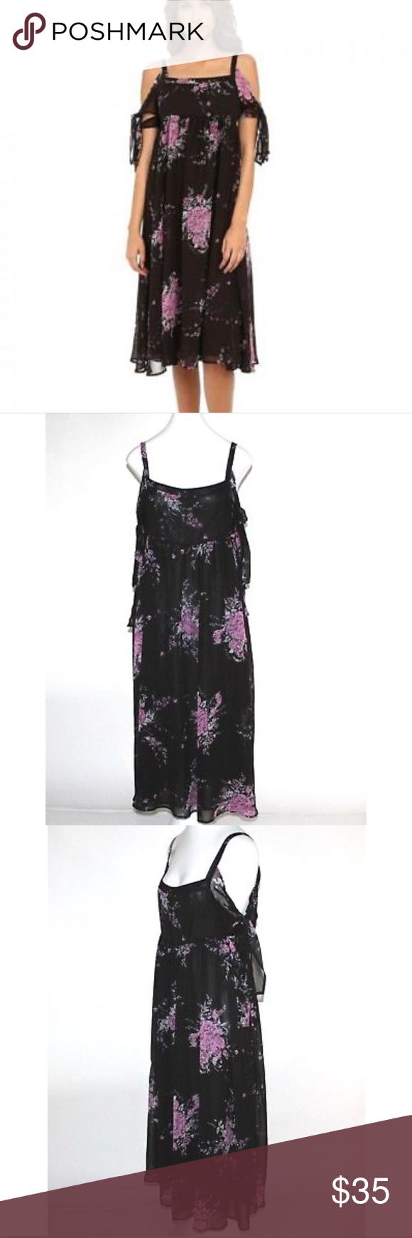 ebe1c325660  Free People   Tied to You  Floral Midi Dress Wispy