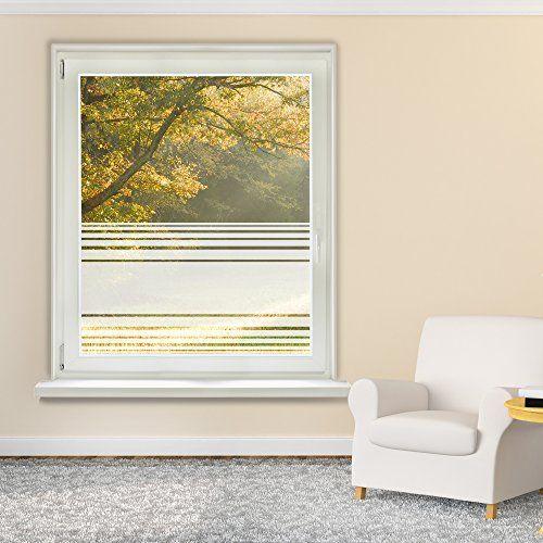 Sichtchutzfolie Sichtschutz Fensterfolie Fr Wohnzimmer S Amazon