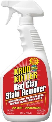 Krud Kutter Rc32 Red Clay Stain Remover 32 Ounce By Krud