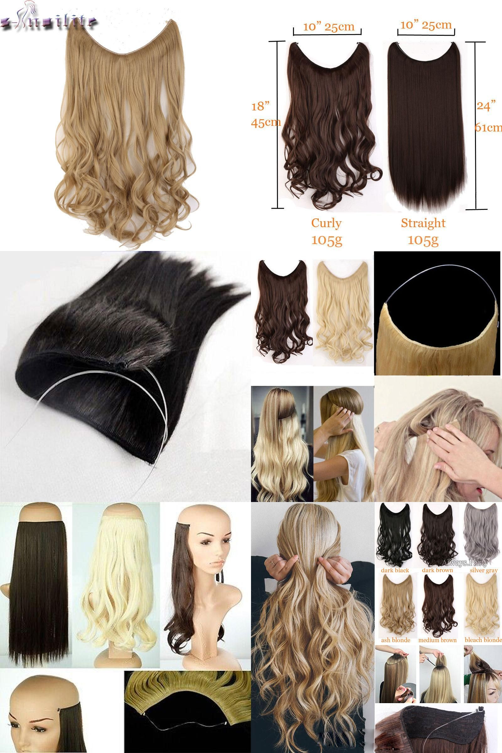 Visit To Buy S Noilite Long Synthetic Hair Heat Resistant Hairpiece