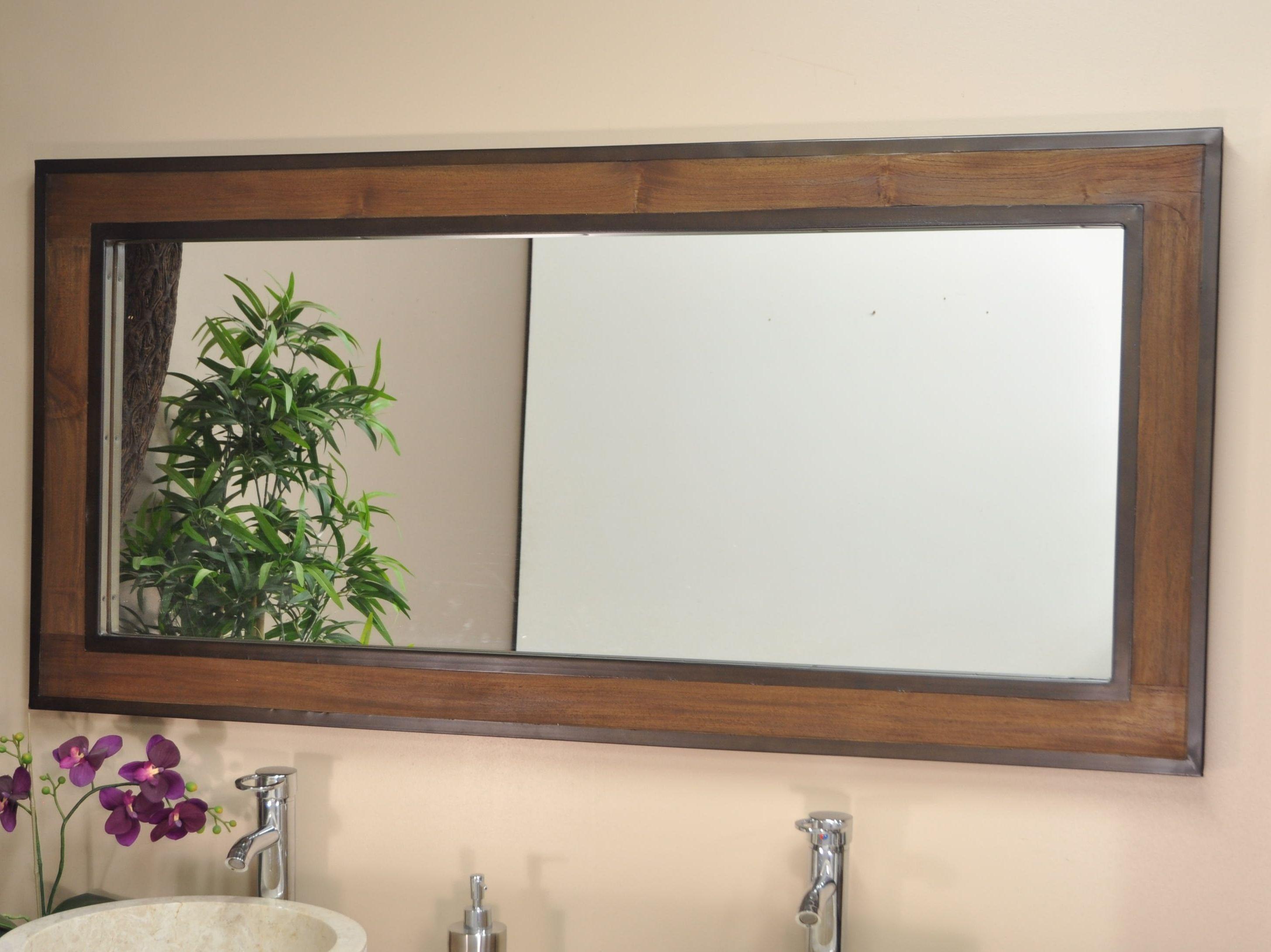 Miroir horizontal for Miroirs muraux conforama
