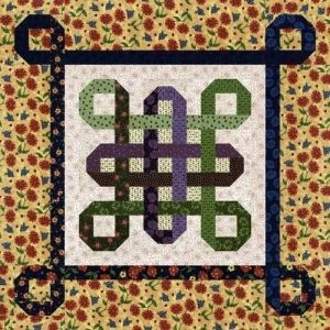 Norwegain Knot Quilt pattern