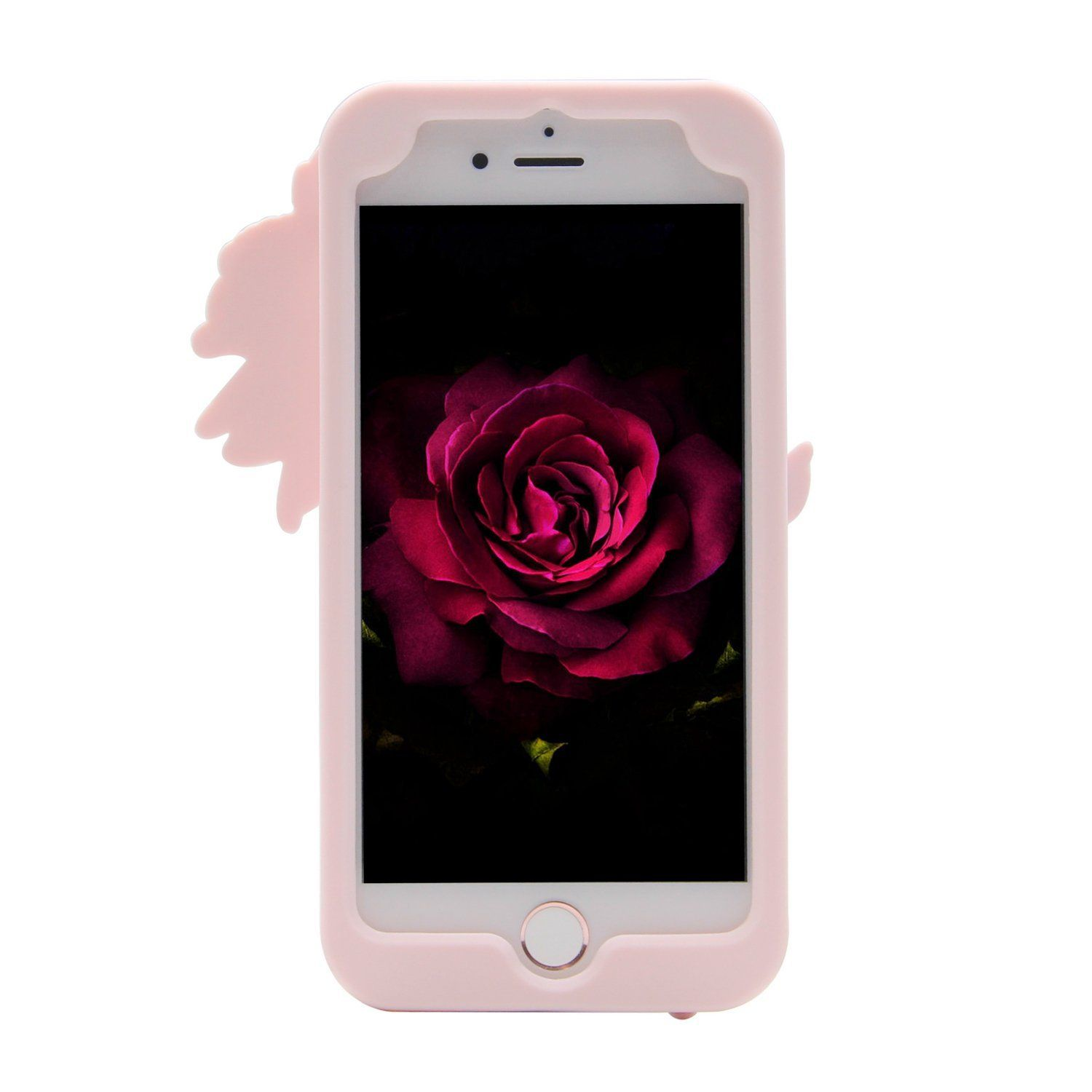 Cat Toys For Kids iPhone 7 Plus Case MC Fashion Cute 3D Red Rose